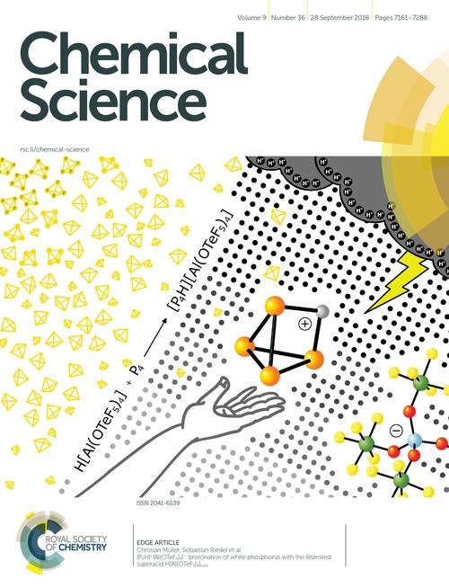 Frontcover Chem. Science