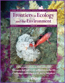 Frontiers in Ecology and the Environment 10(7)