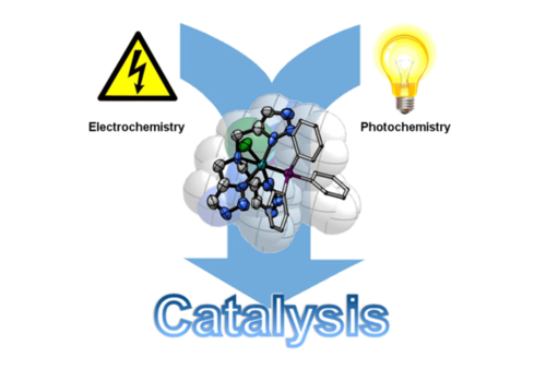 "Metal complexes of bidentate and tripodal ""click""-triazole-ligands and catalysis"