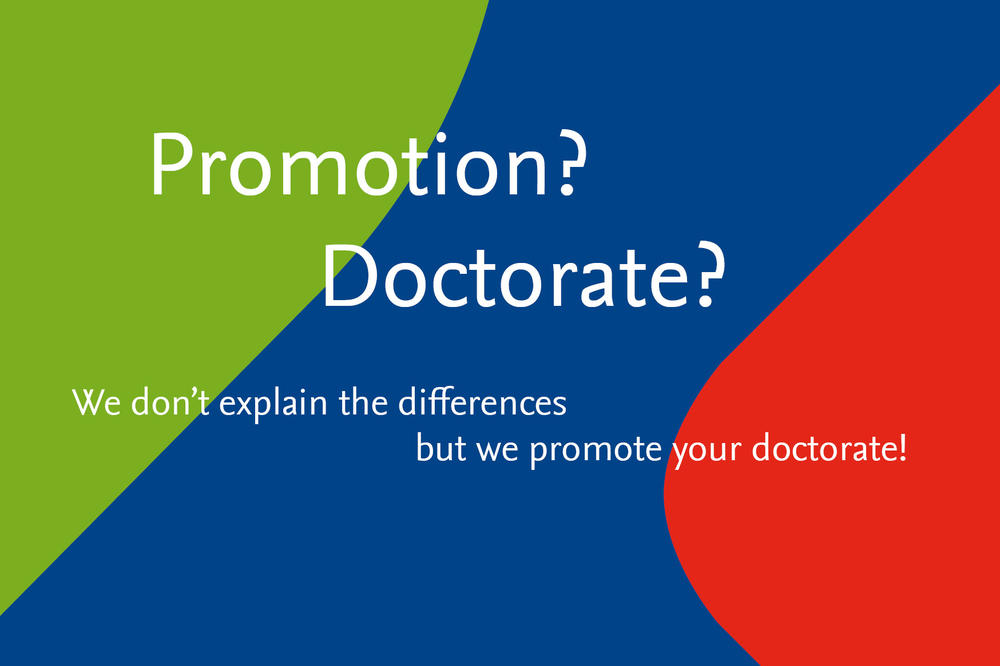 Promotion? Doctorate?