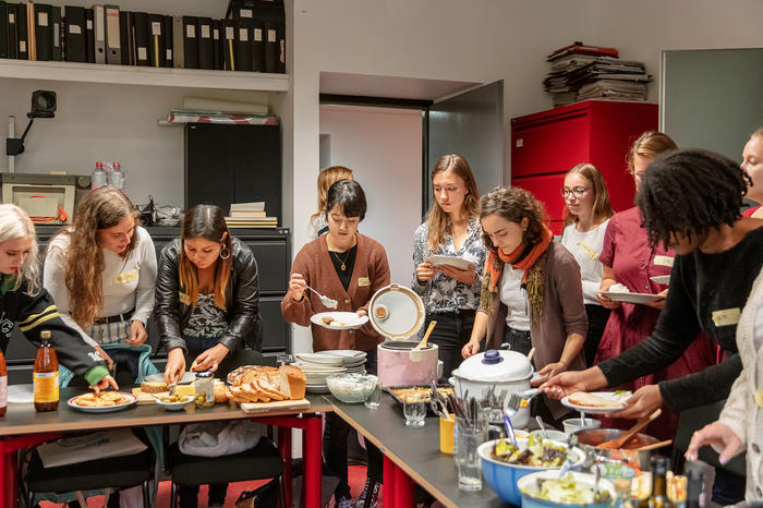Erasmus Incoming Students: Kochen im Team